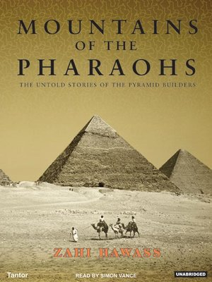 cover image of Mountains of the Pharaohs