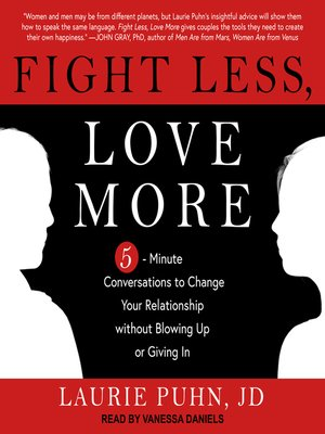 cover image of Fight Less, Love More