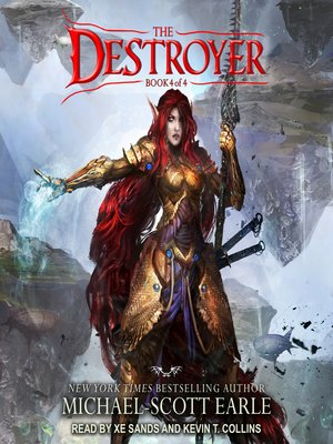 cover image of The Destroyer Book 4