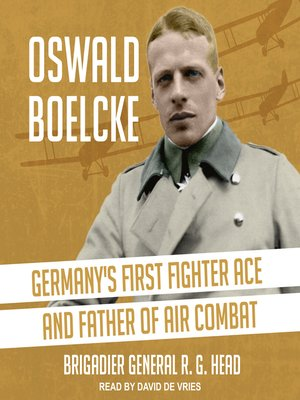 cover image of Oswald Boelcke
