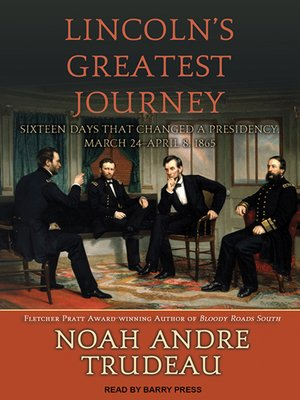 cover image of Lincoln's Greatest Journey