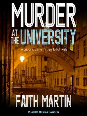 cover image of Murder at the University
