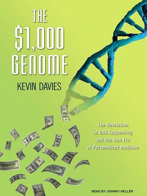 cover image of The $1,000 Genome