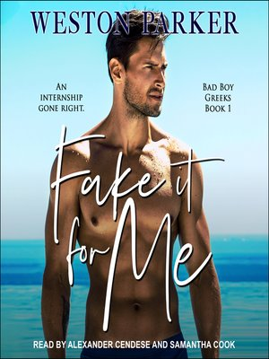 cover image of Fake It For Me