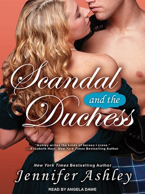 cover image of Scandal and the Duchess