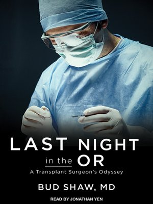 cover image of Last Night in the OR