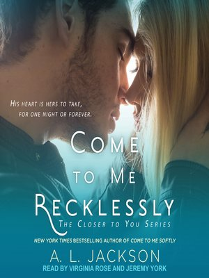 cover image of Come to Me Recklessly