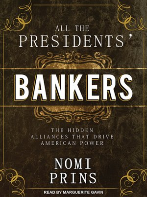 cover image of All the Presidents' Bankers