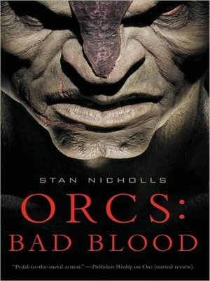 cover image of Orcs--Bad Blood
