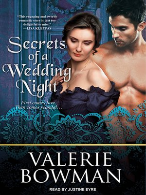 cover image of Secrets of a Wedding Night