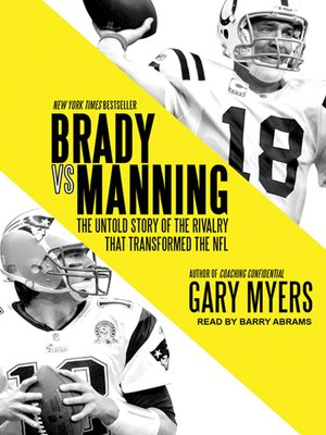 cover image of Brady vs. Manning