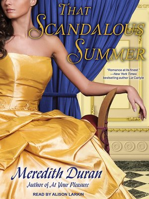 cover image of That Scandalous Summer