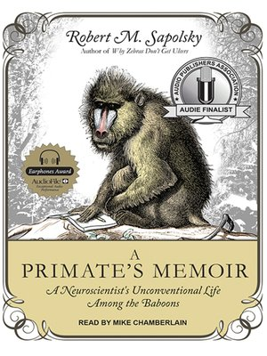 cover image of A Primate's Memoir