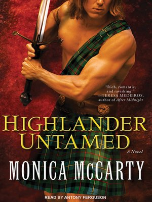 cover image of Highlander Untamed--A Novel