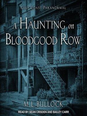 cover image of A Haunting on Bloodgood Row