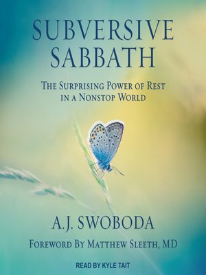 cover image of Subversive Sabbath