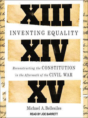 cover image of Inventing Equality