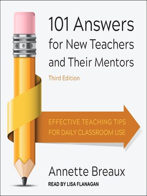 cover image of 101 Answers for New Teachers and Their Mentors
