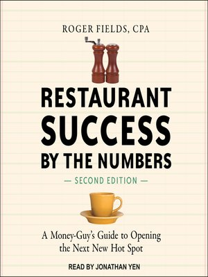 cover image of Restaurant Success by the Numbers