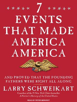 cover image of Seven Events That Made America America
