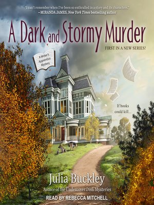 cover image of A Dark and Stormy Murder
