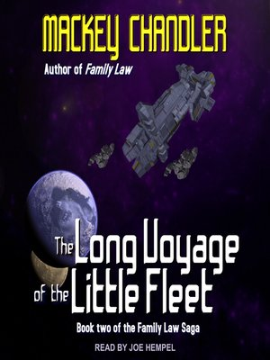 cover image of The Long Voyage of the Little Fleet
