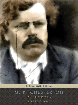 cover image of Orthodoxy
