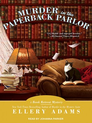 cover image of Murder in the Paperback Parlor
