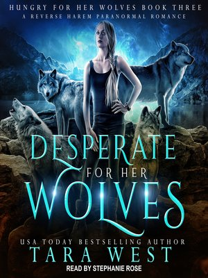 cover image of Desperate for Her Wolves