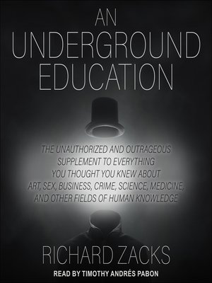 cover image of An Underground Education