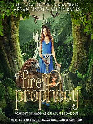 cover image of The Fire Prophecy