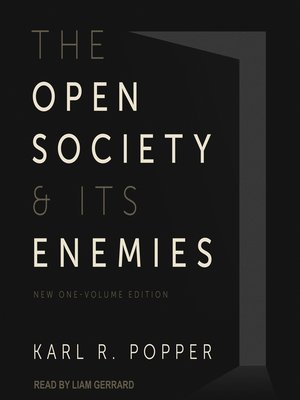 cover image of The Open Society and Its Enemies