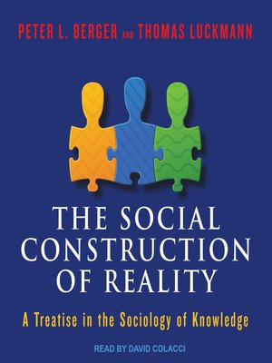 cover image of The Social Construction of Reality