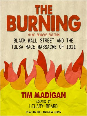 cover image of The Burning (Young Readers Edition)