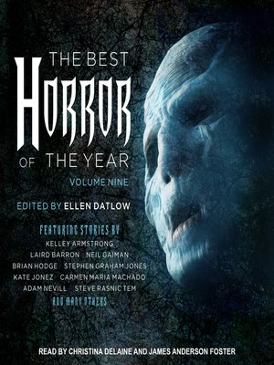 cover image of The Best Horror of the Year, Volume Nine