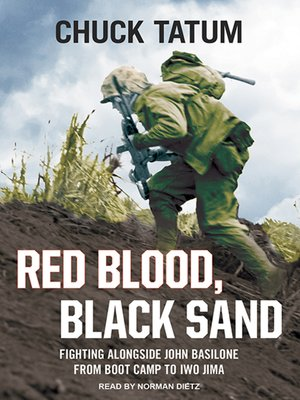 cover image of Red Blood, Black Sand