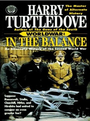 cover image of Worldwar--In the Balance