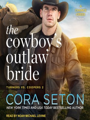 cover image of The Cowboy's Outlaw Bride