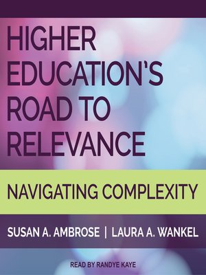 cover image of Higher Education's Road to Relevance