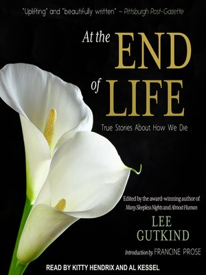 cover image of At the End of Life