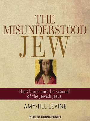 cover image of The Misunderstood Jew