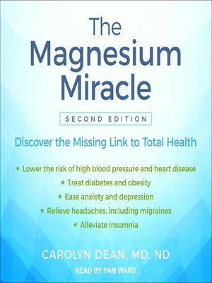 cover image of The Magnesium Miracle ()