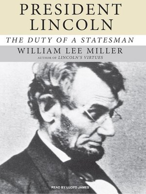 cover image of President Lincoln