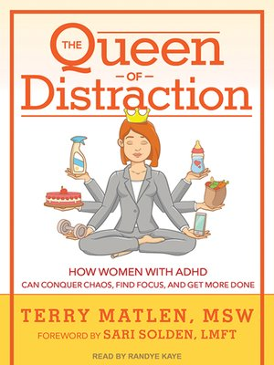 cover image of The Queen of Distraction
