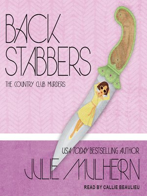 cover image of Back Stabbers