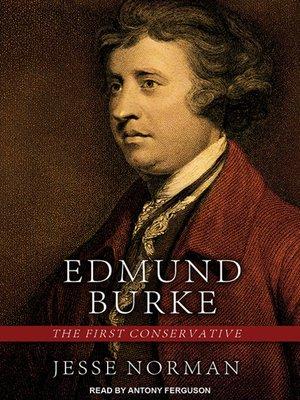cover image of Edmund Burke