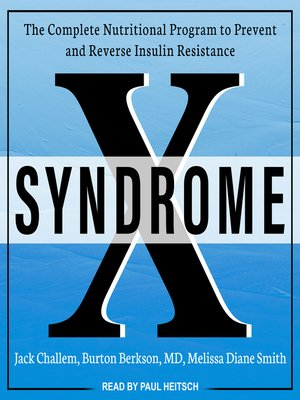 cover image of Syndrome X