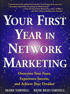 cover image of Your First Year in Network Marketing