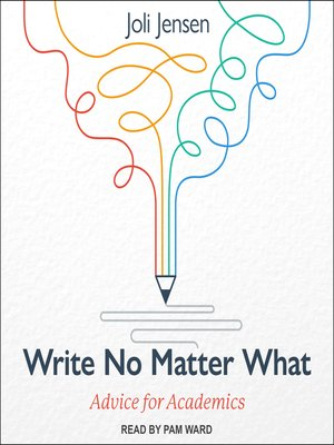 cover image of Write No Matter What