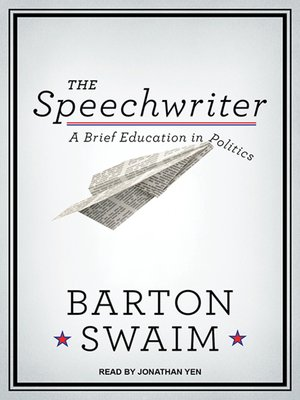 cover image of The Speechwriter
